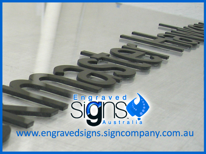 Plastic Sign Letters